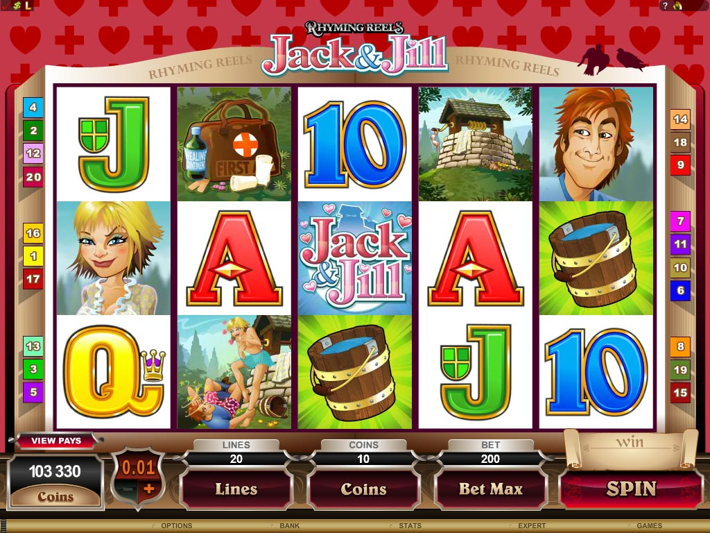 rhyming reels- jack and jill casino